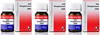 Dr. Reckeweg Germany Kali Phosphoricum 200X (20g) (Pack of 3) - with Express Shipping