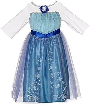 Disney Frozen Enchanting Dress - Elsa 4-6X