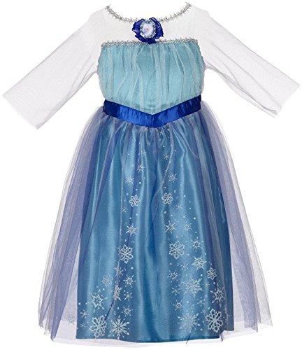 Disney - Robe Déguisement ELSA FROZEN - 4/6ans