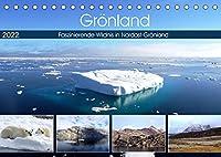 Groenland - Faszinierende Wildnis in Nordost-Groenland (Tischkalender 2022 DIN A5 quer): Atemberaubende Landschaft in Nordost-Groenland (Monatskalender, 14 Seiten )
