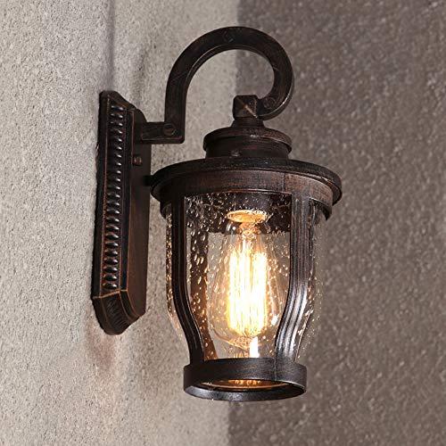 Slaapkamer Armaturen Amerikaanse Retro Outdoor waterdichte aluminium Wandlamp Europese Aisle Outdoor Patio Waterdichte wandlamp W Wandlamp Verlichting (Design : 1)