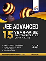 JEE Advanced 15 Year-wise Solved Papers 1 & 2 (2006 - 2020) 2nd Edition