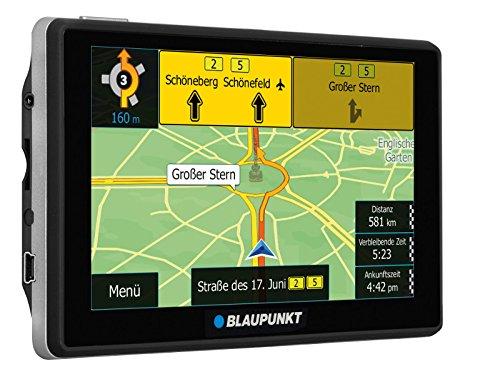Blaupunkt TravelPilot 53² CE LMU - Navigationssystem mit 12,7 cm (5 Zoll) Display, Kartenmaterial Zentraleuropa, lebenslange Karten-Updates*, TMC Stauumfahrung