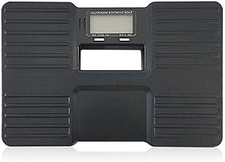 BANANAJOY Electronic Scales, Báscula de baño de plástico Equipos de excavación multifuncionales portátiles Escala electrónica, del Cuerpo Humano, MAX Black 150Kg