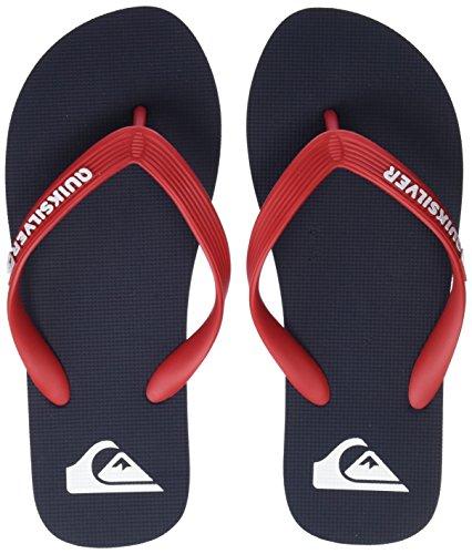 Quiksilver Molokai Youth, Zapatos de Playa y Piscina Niños, Azul (Blue/Red/Blue Xbrb), 37 EU