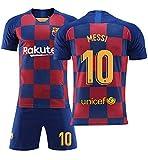 メッシ サッカーユニフォーム FCバルセロナ ホーム 背番号10 レプリカサッカーユニフォーム 子供用 ジュニア BRUGGE オリジナルセット商品 (ホーム2018, XL)