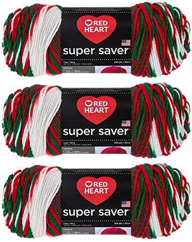 Red Heart E300-979 Red Heart Super Saver Yarn - Mistletoe