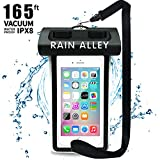 "Universal Waterproof Pouch Phone Dry Bag Underwater Case for IPX8 X/XS/XR MAX/8/7/6/6s Plus Samsung Galaxy S9/S8 Huawei up to 6.0"",Waterproof Case for Pool Beach Swimming Kayak Travel or Bath– Black"