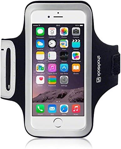 Shocksock Custom Made Reflective Sports Armband with Dual Arm Size Slots and Key Pocket for product image