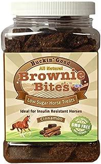 Buckin' Good Brownie Bites Low Sugar, Low Starch Horse Treats