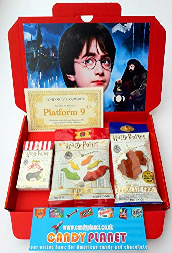 Harry-Potter-Sweets-Hamper-Inspired-by-The-Legendary-Movies-Letterbox-Friendly-Glossy-Red-Box-Bertie-Botts-Beans-Chocolate-Frog-Slugs-Christmas-Present-Hamper-CANDYPLANET
