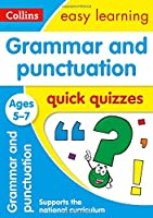 Grammar & Punctuation Quick Quizzes: Ages 5-7 (Collins Easy Learning Ks1)