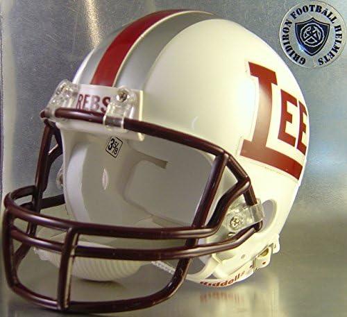 Midland Lee sold out Rebels 2007 - Texas Football Mini High Helmet School New color