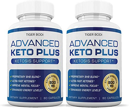 (2 Pack) Keto Advanced Weight Loss, Advanced Keto Plus Keto Advance - Advanced Keto Diet Pill Fast Burner Supplement for Energy - BHB Ultra Boost Exogenous Ketones for Rapid Ketosis for Men Women 1