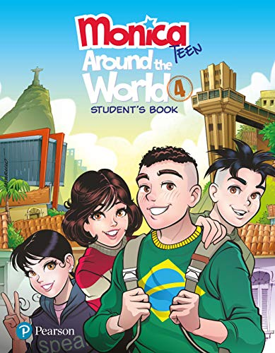 Monica Teen: Around The World Student Book 4 - Pack: Student's Book - Pack