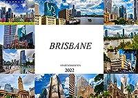 Brisbane Stadtansichten (Wandkalender 2022 DIN A3 quer): Zwoelf wunderschoene Bilder der Stadt Brisbane (Monatskalender, 14 Seiten )