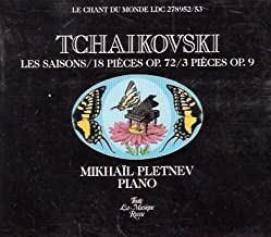 Tchaikovsky - Les Saisons/18 Pièces Op.72/3 Pièces Op.9 - 2 CD Set
