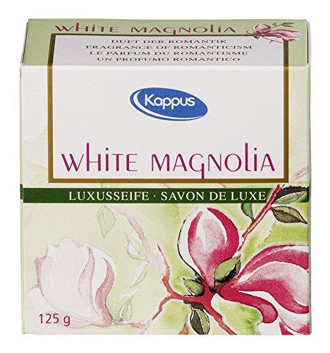 KAPPUS white magnolia Seife 125 g