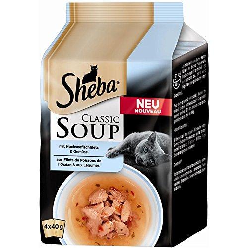 Sheba MP Classic Soup Hochseefischfilets | 12x4x40g