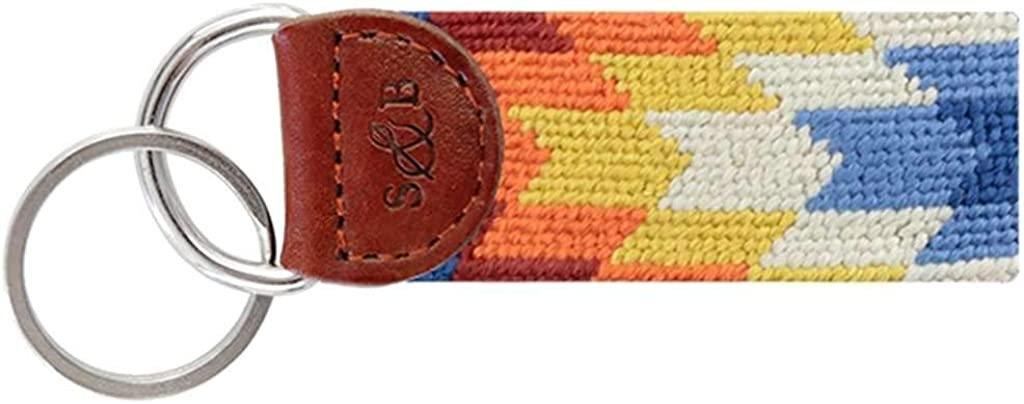 Starburst Needlepoint Key Popular shop is the lowest Complete Free Shipping price challenge Fob by Branson Smathers