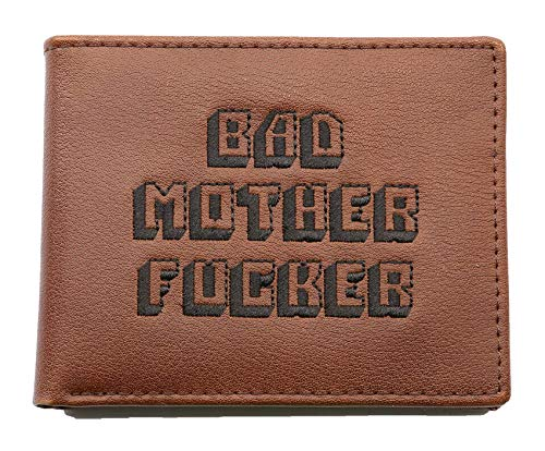 BAD MOTHER FUCKER Cartera PULP FICTION Cult Movie Replica