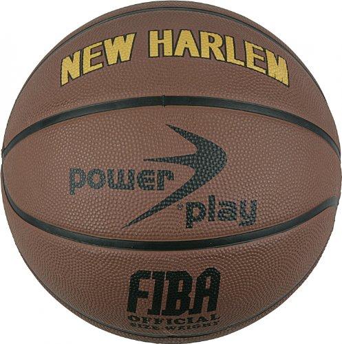 POWERPLAY New Harlem Basketball Größe 7 Art. 100009 Braun