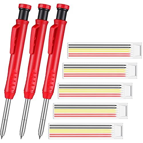 4 Pieces Solid Carpenter Pencil Con…