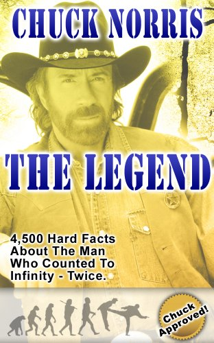 Chuck Norris: The Legend: 4,500 Hard Facts About The Man Who Counted To Infinity - Twice (English Edition)