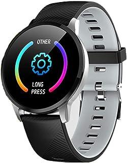 Reloj Deportiva Reloj Inteligente Smartwatch Hombre Mujer Pulsómetro Pulsera Actividad con Inteligente de Podómetro y Monitoreo del Sueño para Android y iOS