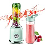 REDMOND Personal Blender Countertop Smoothie Blender 21000RPM with 2 x 20oz Travel Bottle 2 Speed,...