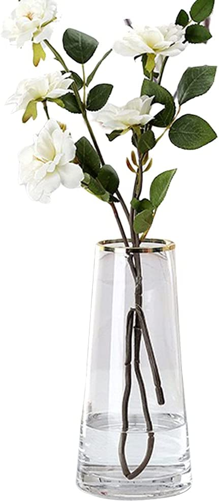 Limited time cheap sale Kaypoetry Modern Glass vase for Decorati Inexpensive Home Office Room Living
