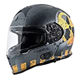 TORC T14B Bluetooth Integrated Mako Nuke Full Face Helmet...