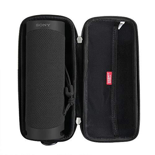 Hermitshell - Funda rígida para altavoz inalámbrico Sony SRS-XB23 (Bluetooth), color negro