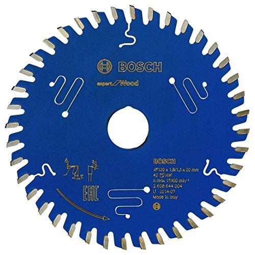Preisvergleich Produktbild Bosch Professional Kreissägeblatt Expert für Wood (Holz,  120 x 20 x 1, 8 mm,  40 Zähne,  Zubehör Kreissäge)