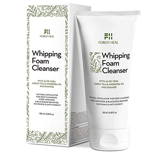 Forest Heal Foaming Facial Cleanser (Coconut Based Exfoliating)