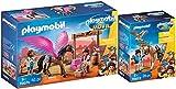 Playmobil® The Movie 70072 70074 Marla - Juego de 2 figuras de Marla con caballo y Marla, del Del y caballo con alas