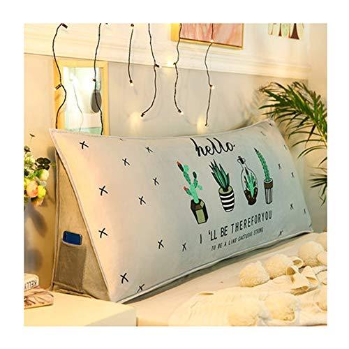 GYH pillow LJHA Baozhen - Cojín para mesita de Noche para Cama de Matrimonio, estilo1, 120 cm