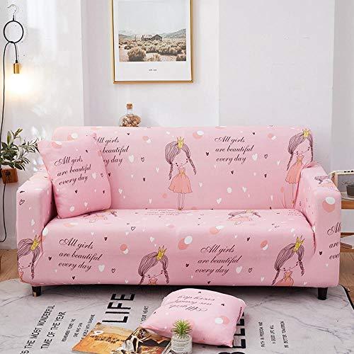 Funda de sofá Antideslizante 3 plazas, Funda de sofá de Esquina Completa Universal Fundas de sofá elásticas para Sala de Estar, Funda de sillón Antideslizante Sofás Chaise B