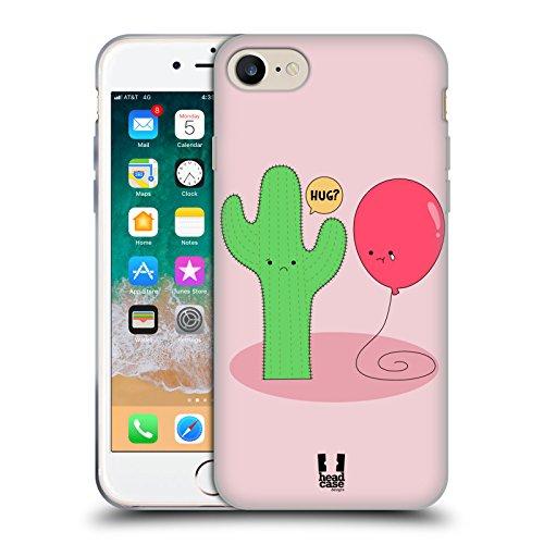 Head Case Designs Cactus E Palloncino Amore Inpossibile Cover in Morbido Gel e Sfondo di Design Abbinato Compatibile con Apple iPhone 7 / iPhone 8 / iPhone SE 2020