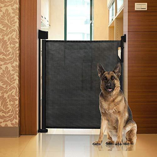 Bettacare Advanced Retractable Pet Gate Black 0cm - 120cm