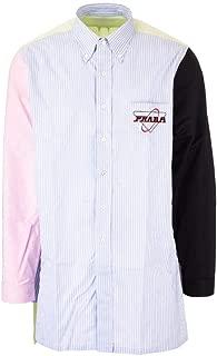 PRADA Luxury Fashion Mens UCN275S2011WD8F0ZUP Light Blue Shirt |