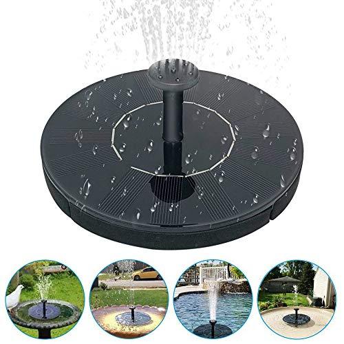 Fuente solar de RASHION, fuente de jardín con bomba de agua para...