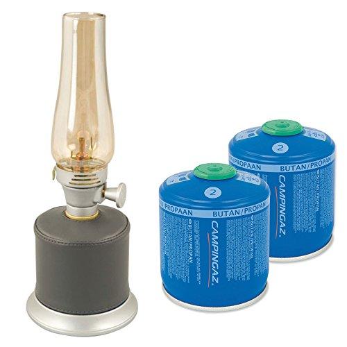 CampingazAmbiance Lantern Gaslampe Bundle inklsuive 2X CV300 Kartusch