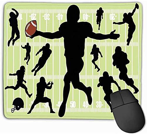 N/A Mouse Pad Voetbal Schilderij Rechthoek Rubber Mousepad 25 * 30Cm