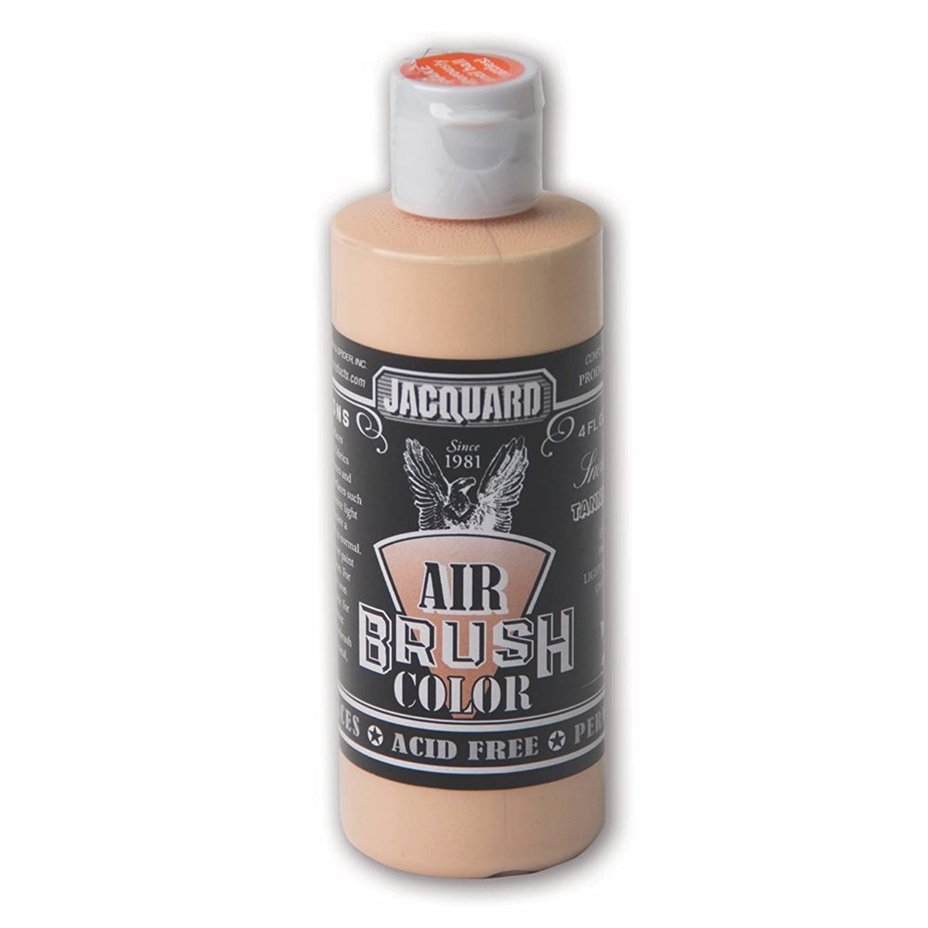 Sneaker Series Airbrush Color by Jacquard, Artist-Grade Fluid Acrylic Paint, Use on Multiple Surfaces, 4 Fluid Ounces, Tanned Leather