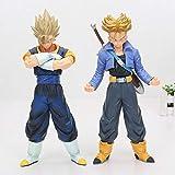 CXNY 25 cm Anime Dragon Ball Z Master Star Piece Super Saiya Vegetto Trunks PVC Figura de acción Mod...