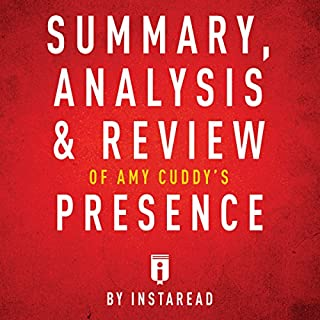 Summary, Analysis & Review of Amy Cuddy's Presence by Instaread audiobook cover art