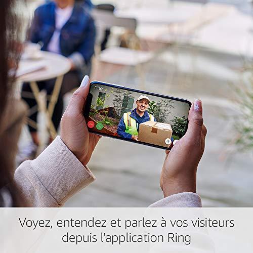 Sonnette sans fil vidéo Ring Door View Cam HD 1080 3