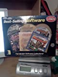 Best Selling Software 3 Pack Las Vegas Tycoon, Civilation, and Crazy Minigolf
