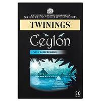 トワイニングセイロンティーバッグ50パックあたり (x 4) - Twinings Ceylon Tea Bags 50 per pack (Pack of 4) [並行輸入品]